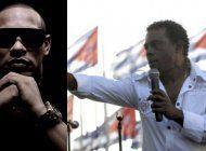 el cantante cubano alexander delgado a candido fabre: eres un descarado que vive bien