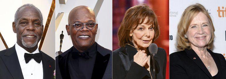 Oscar honra a Elaine May, Danny Glover, Samuel L. Jackson