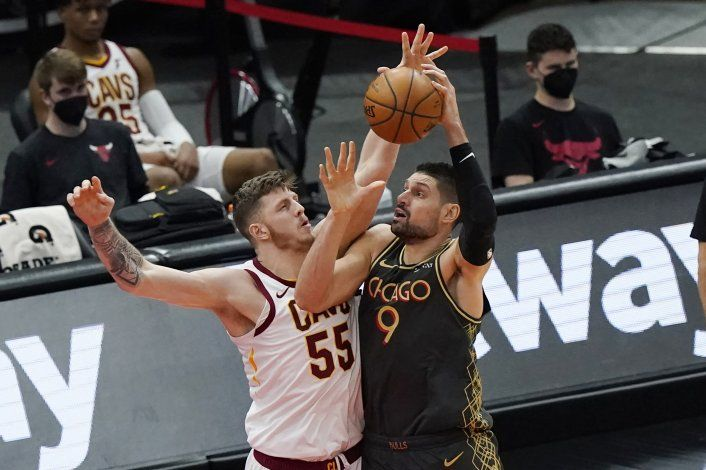 Bulls superan a Cavaliers y cortan racha de cinco derrotas
