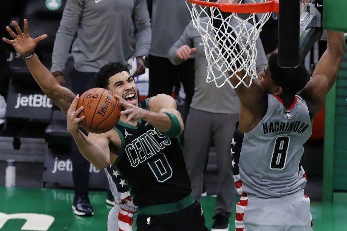 Tatum define por Celtics en victoria sobre Wizards