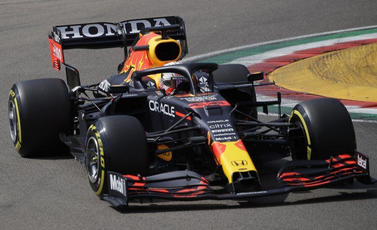 F1: Verstappen el más veloz en 3ra práctica en Imola