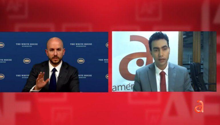 ENTREVISTA EXCLUSIVA: asesor de Seguridad Nacional de Biden dice que no hablarán con el régimen