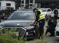 disparan contra el auto de asistente presidencial de ucrania