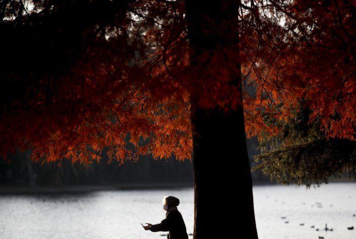 Parques de Buenos Aires llenos de gente que busca oxigenarse