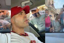 yomil publica el video de su detencion y de como el pueblo salio en su defensa