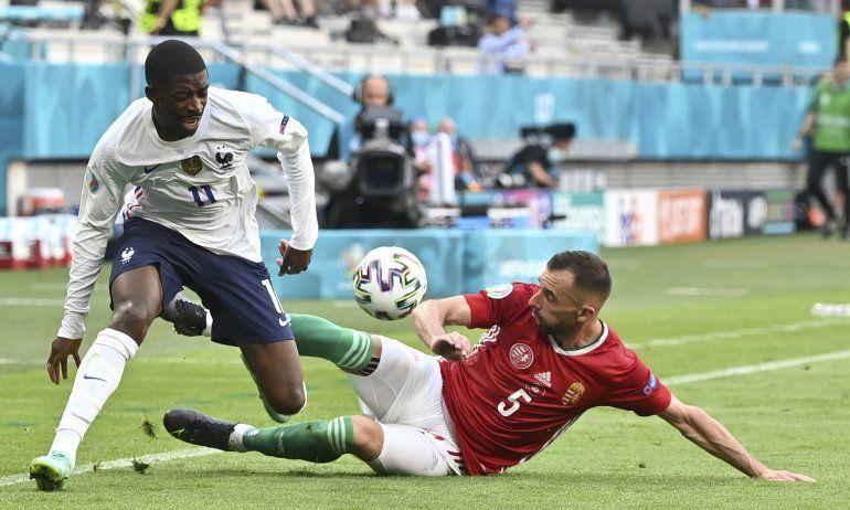 Francia: Dembélé fuera de Euro 2020 por lesión de rodilla