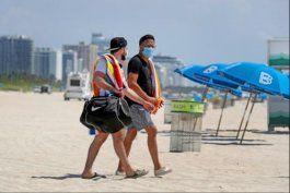 miami beach comienza el rastreo de casos de coronavirus en lugares turisticos