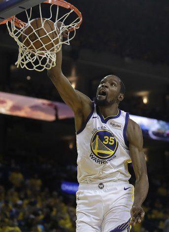 Incertidumbre para Durant, al volver tras lesión grave