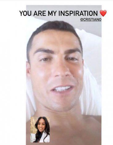 El mensaje de Georgina Rodríguez a Cristiano Ronaldo tras confirmarse que tiene coronavirus