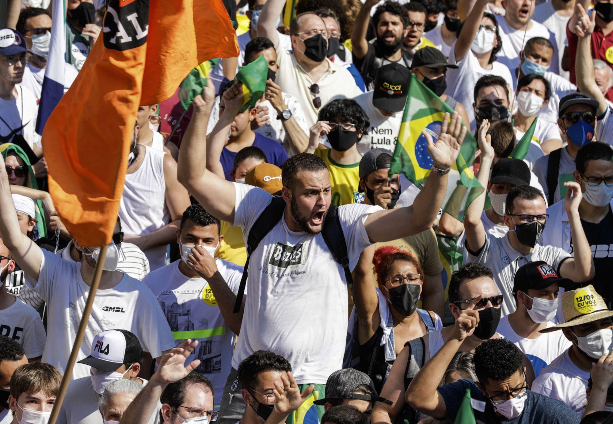 protestas revelan poco apoyo a juicio politico de bolsonaro