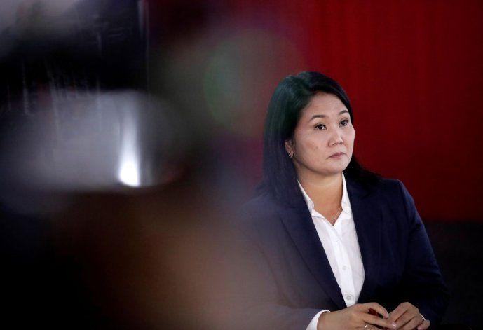 Keiko Fujimori reacciona ante orden de arresto en su contra