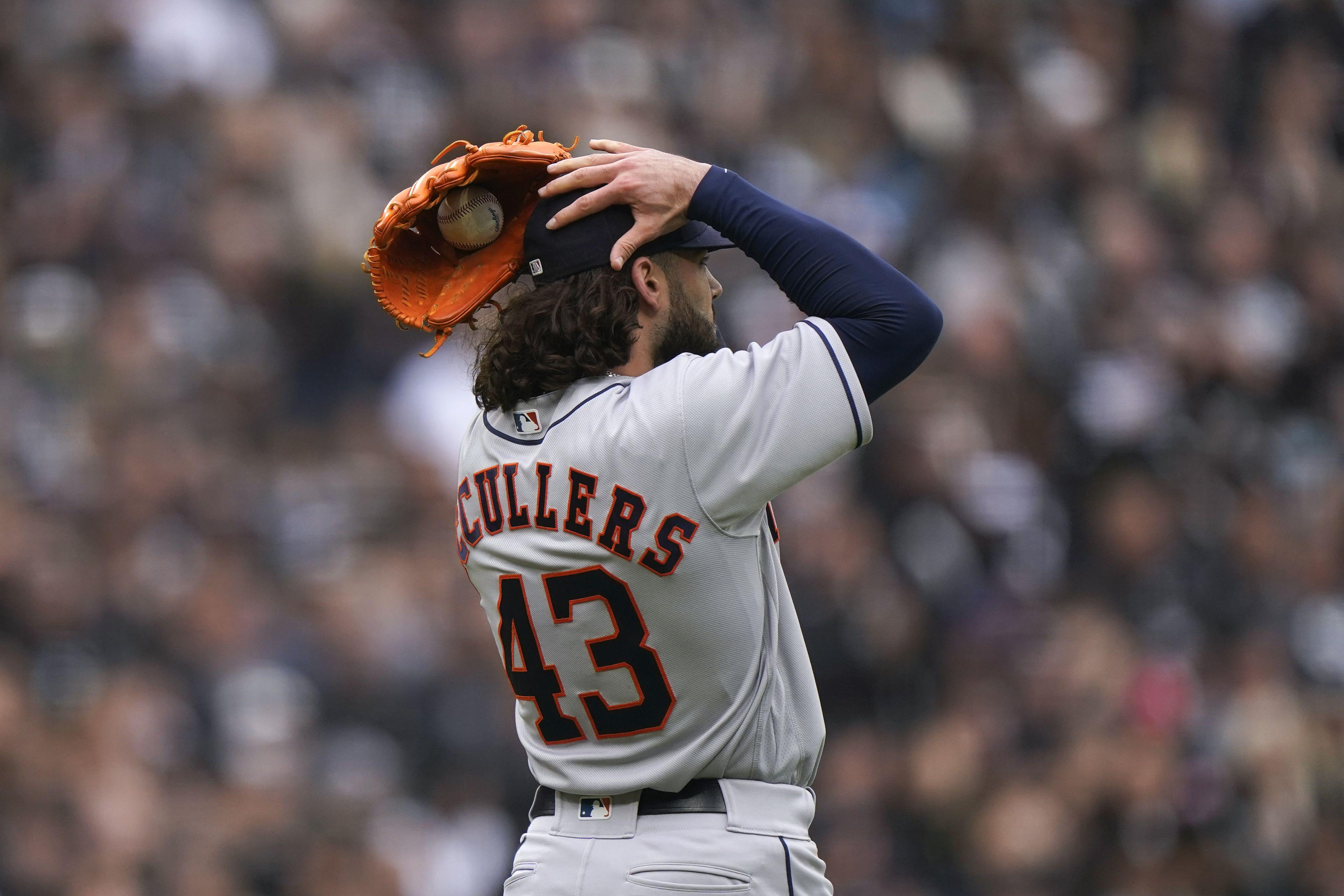 McCullers, excluido de plantel de Astros por lesión