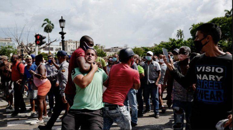 La Comisión Interamericana de Derechos Humanos alerta de graves violaciones de los Derechos Humanos a raíz de las protestas en Cuba