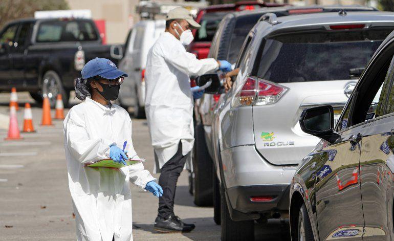 Cifras de infecciones en EEUU serán erráticas tras feriados