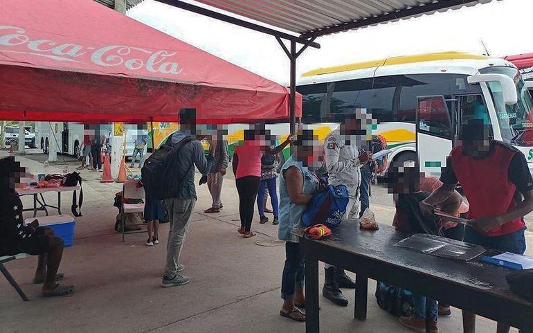 México.- Detenidos 71 migrantes en Veracruz, México