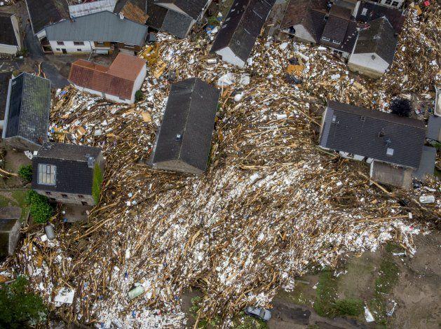 Suben a más de 150 los muertos en inundaciones en Europa
