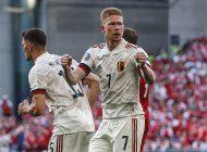 dinamarca da un susto a belgica, pero termina perdiendo 2-1