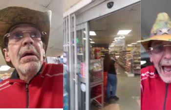 VIDEO: Expulsan a Edmundo García de mercado en Miami