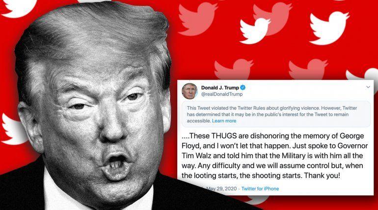 Twitter rechaza que el Archivo Nacional de EEUU recupere los tuits de Donald Trump