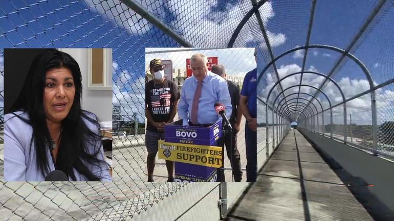 ¿Cómo solucionarán los candidatos a la alcaldía de Hialeah la apertura del puente entre esa ciudad y Miami Lakes?