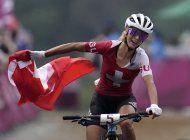 suiza copa el podio en ciclismo de montana