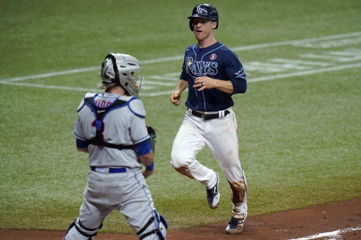 Wendle batea 3 de los 8 dobles de Rays, que vencen a Mets