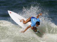 nervios, alegria y pocas olas en el debut olimpico del surf