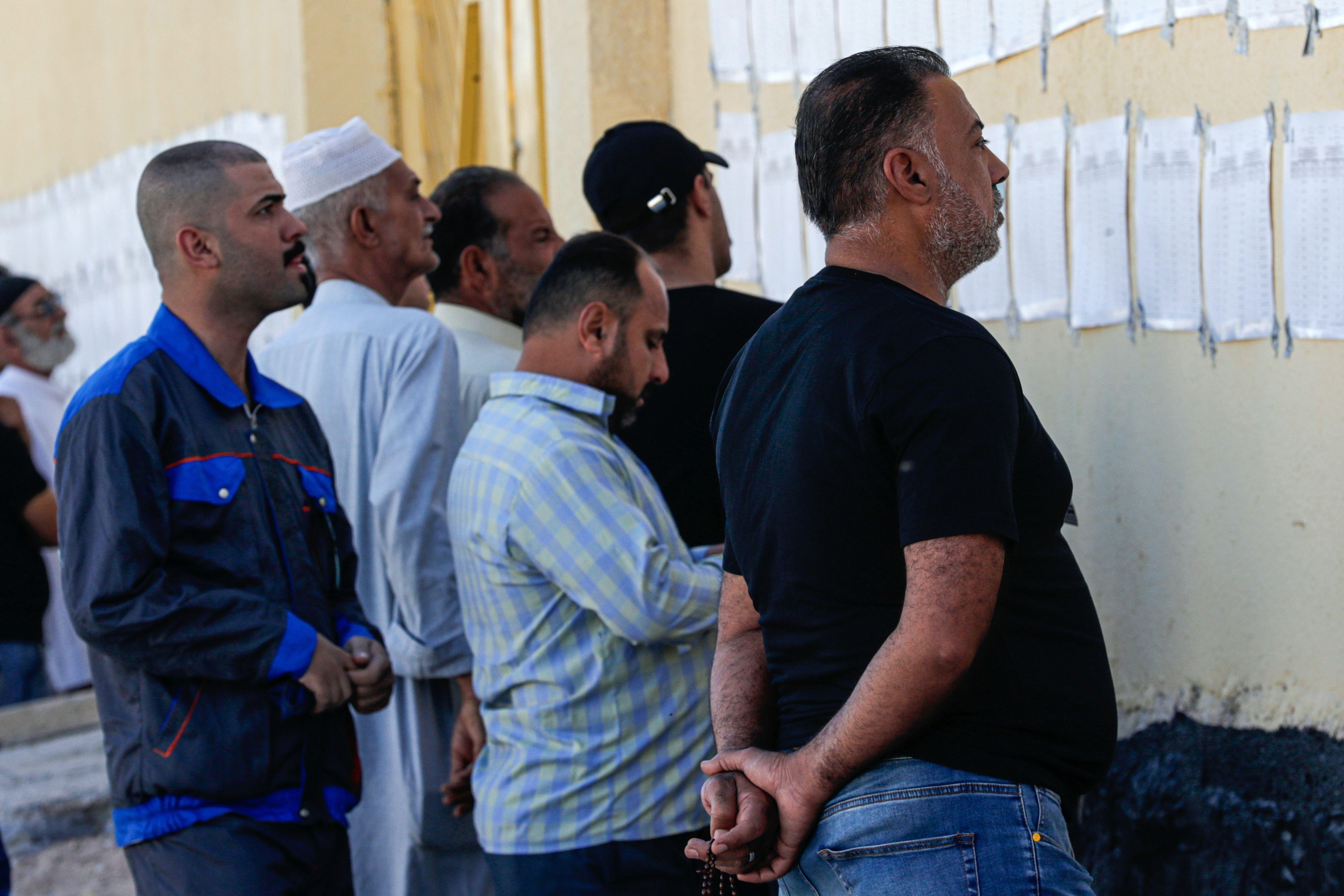 las elecciones iraquies muestran una participacion minima