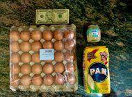 aumento de sueldo en  venezuela es una burla, no alcanza ni para un carton de huevos