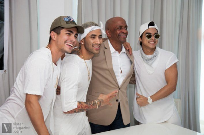 El productor de Marc Anthony y JLo está en La Habana para filmar con la banda Ángeles