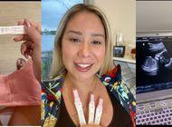 senorita dayana anuncia en sus redes sociales que esta embarazada