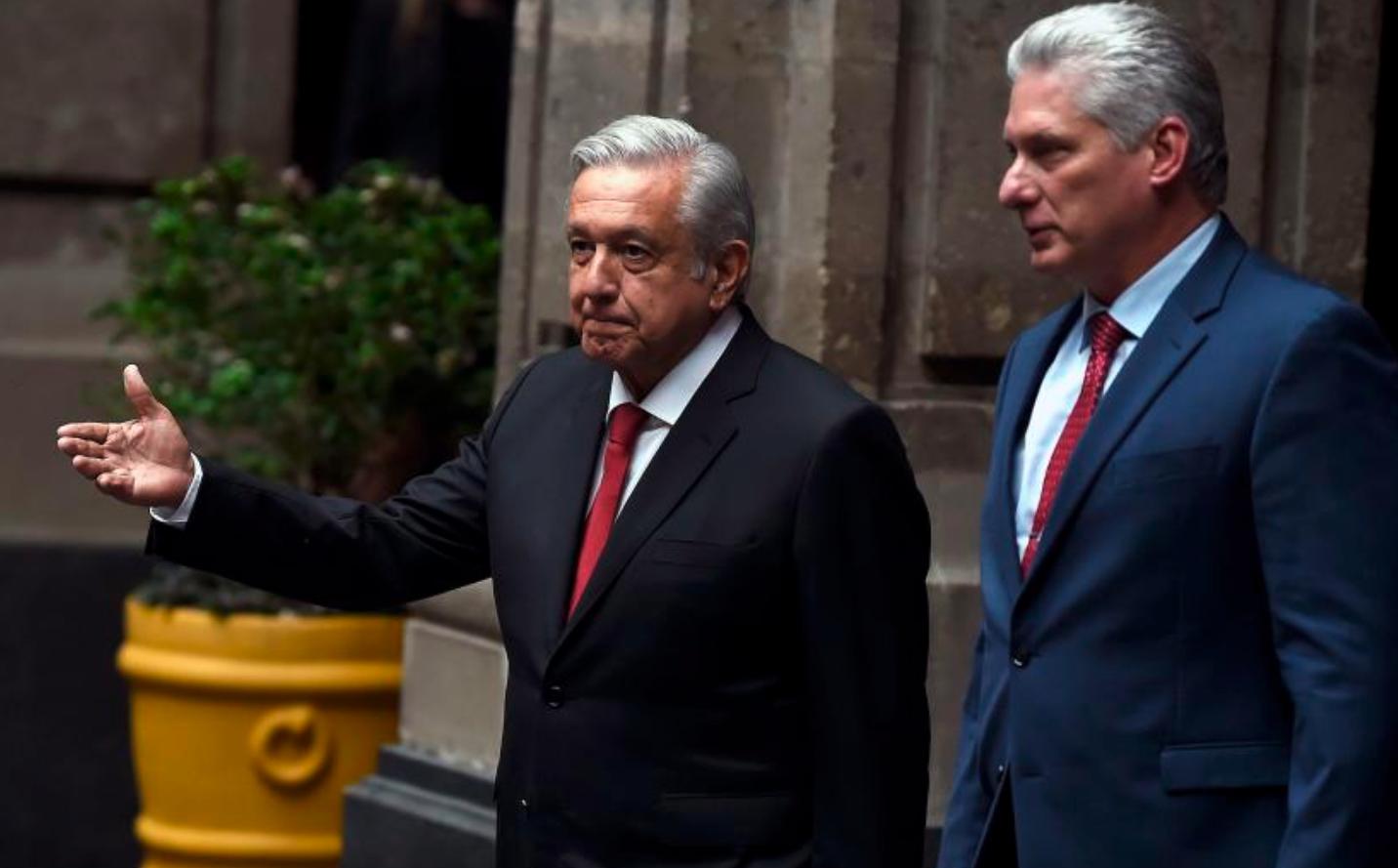 acusan a lopez obrador y a diaz-canel de orquestar un fraude al presupuesto de salud de mexico