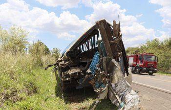 40 muertos en accidente vial en carretera de Sao Paulo