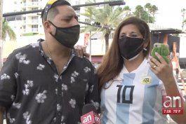 residentes de miami reaccionan a la muerte de maradona