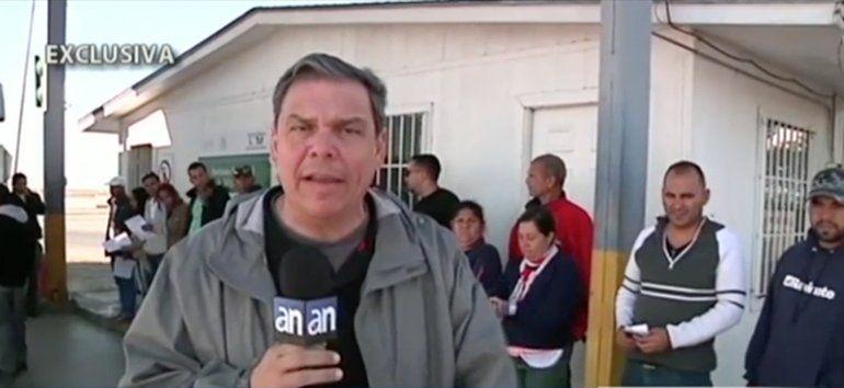 Así fue el momento de la llegada a la frontera de México de los cubanos de Costa Rica