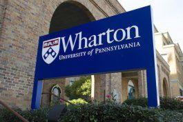 Escuela de negocios Wharton de la Universidad de Pennsylvania.