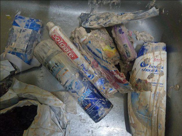 En estas condiciones un cubano de la isla recibió un paquete de aseo  tras 8 meses de espera