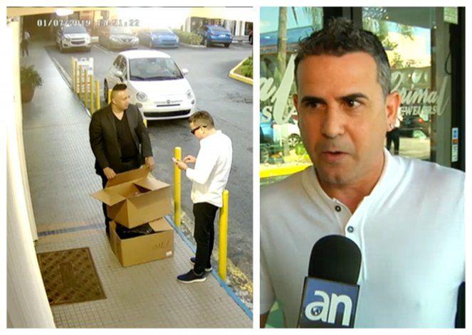 Le roban más de 60 mil dólares al conocido joyero de Miami, Grimmal