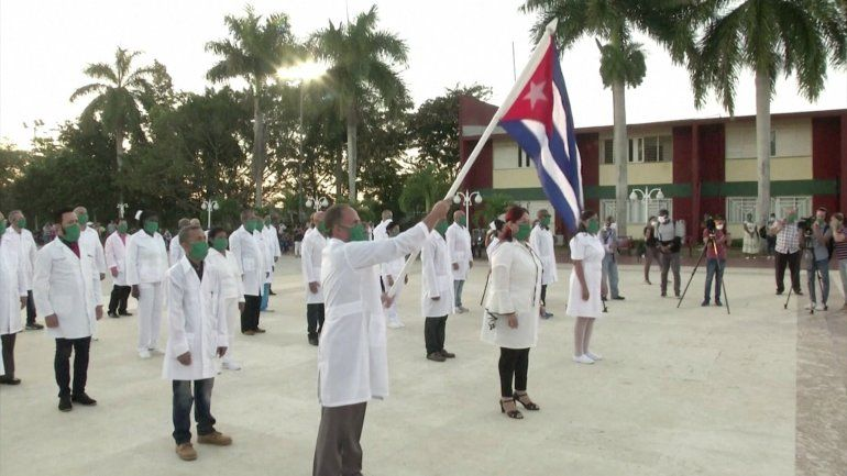 Colombia dice no a la presencia de médicos cubanos en ese país