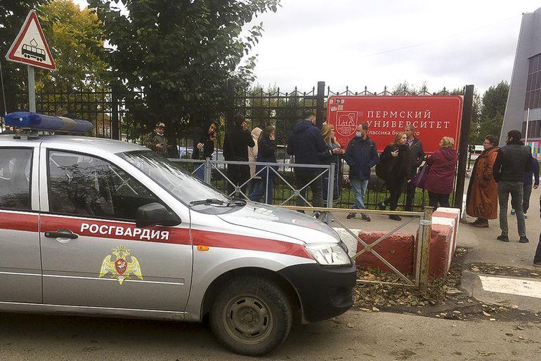Cuatro heridos en un tiroteo en una universidad rusa