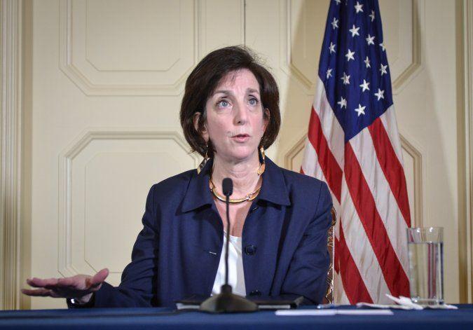 Roberta Jacobson dejará a finales de abril el cargo de enviada especial de EEUU para la frontera sur