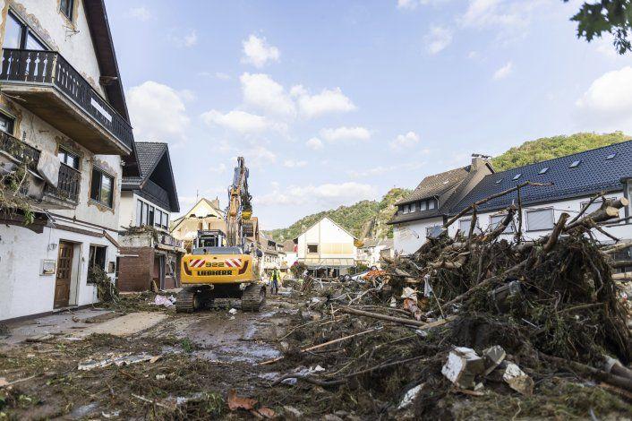 Europa suma 180 muertos tras las inundaciones