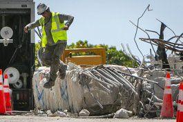 ingeniero: sitio de edificio derruido en surfside es inseguro