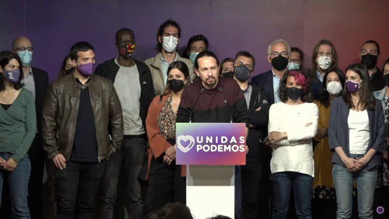 Iglesias deja todos los cargos en Podemos y no será diputado por haberse convertido en un chivo espiatorio
