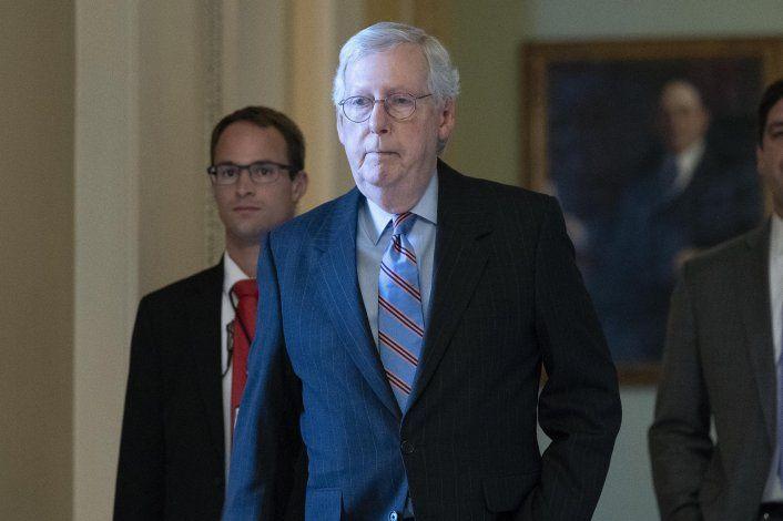 "EEUU: Demócratas acusan a McConnell de ""estratagema"" dañina"