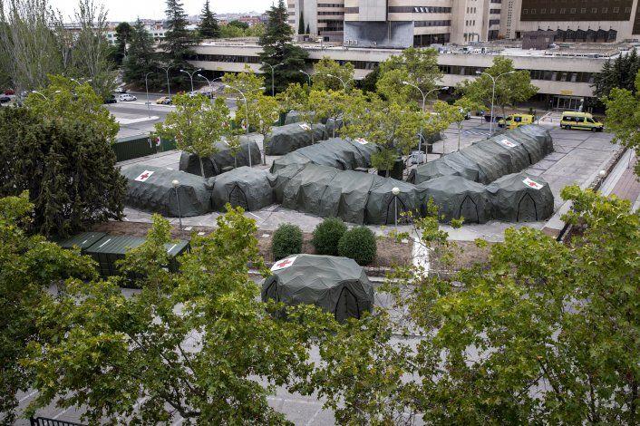 Vuelven carpas y restricciones a Madrid por COVID-19