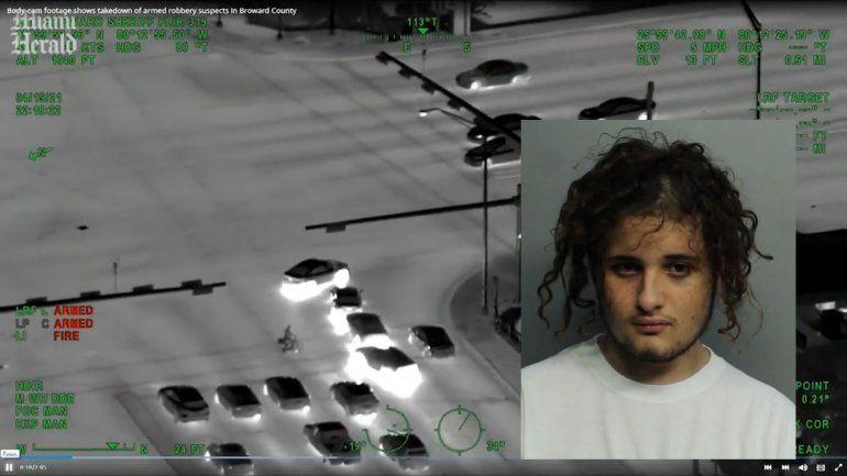 Revelen las imágenes de una persecución policial en Hialeah donde un joven termino herido de bala