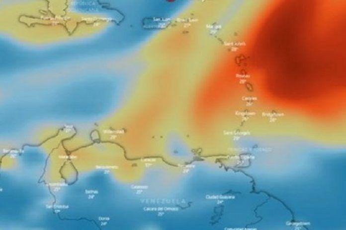 nube de dioxido de azufre proveniente del volcan de cumbre vieja llego a latinoamerica