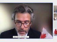 embajador viera-blanco sugiere un programa especial de estudios en canada a minsitra de desarollo internacional