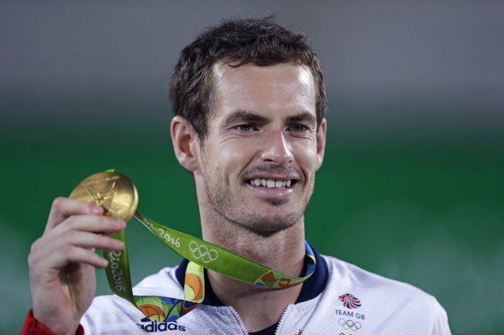 Andy Murray defenderá su título olímpico en Tokio